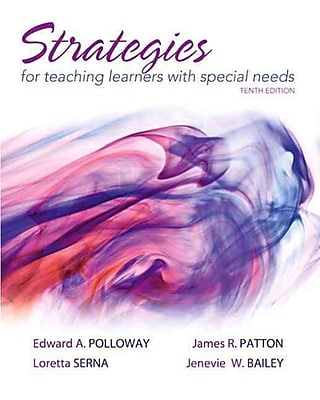 Pearson Strategies for Teaching Learners With Special Needs Book