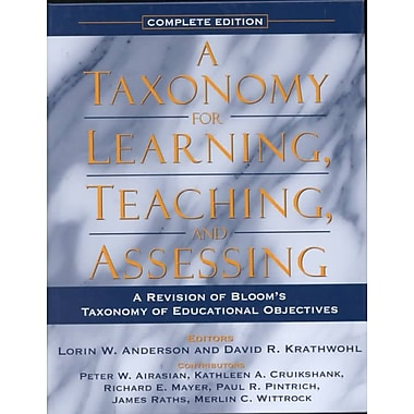 Prentice Hall Taxonomy for Learning, Teaching, and Assessing Book