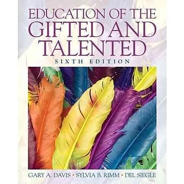 Pearson Education of the Gifted and Talented Book