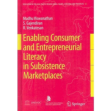 Springer Enabling Consumer and Entrepreneurial Literacy in Subsistence..., Volume 12 Book