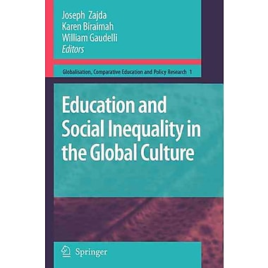 Springer Education and Social Inequality in the Global Culture Book