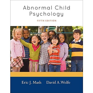 Cengage Learning® Abnormal Child Psychology Hardback Book, Used Book