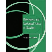 Pearson Philosophical and Ideological Voices in Education Book
