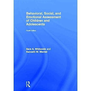 Taylor & Francis Behavioral, Social and Emotional Assessment of Children Book, 4th Edition