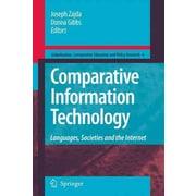 Springer Comparative Information Technology Book