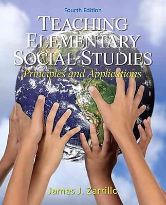 Pearson Teaching Elementary Social Studies: Principles and Applications Book