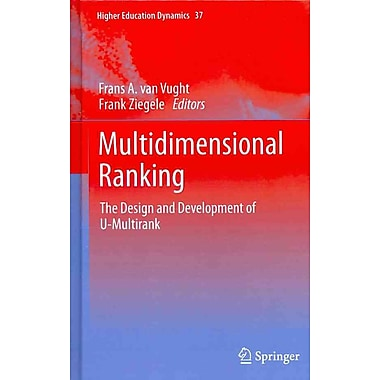 Springer Multidimensional Ranking, Volume 37 Book