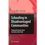Springer Schooling in Disadvantaged Communities Book