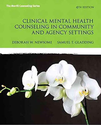 Pearson Clinical Mental Health Counseling in Community and Agency Settings Book