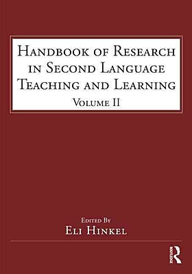 Taylor & Francis Handbook of Research in Second Language Teaching and Learning Paperback Book