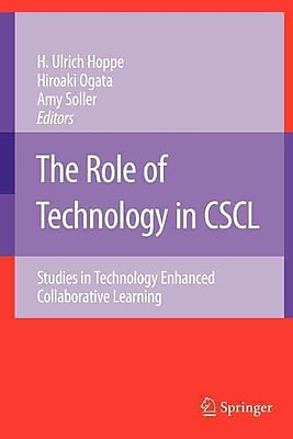 Springer Verlag The Role of Technology in CSCL Book