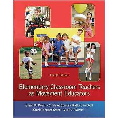 McGraw-Hill Education Elementary Classroom Teachers as Movement Educators Book