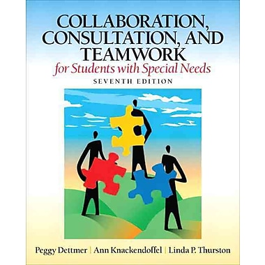 Pearson Collaboration, Consultation and Teamwork for Students With Special Needs Book