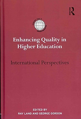 Taylor & Francis Enhancing Quality in Higher Education Book