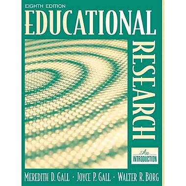 Pearson Educational Research: An Introduction Book