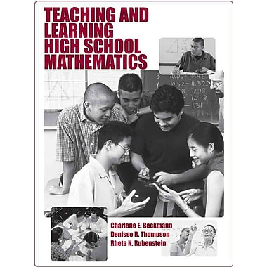 John Wiley & Sons Teaching and Learning High School Mathematics Book