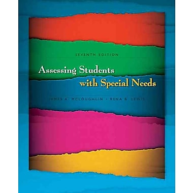 Pearson Assessing Students With Special Needs Book
