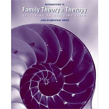 Cengage Learning® Introduction To Family Theory and Therapy Book, 1st Edition