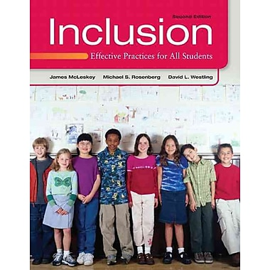 Pearson Inclusion: Effective Practices for All Students Book