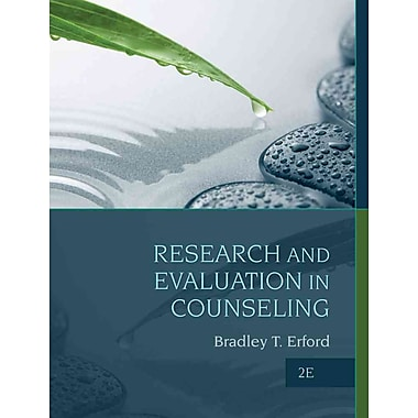 Cengage Learning® Research and Evaluation In Counseling Book, 2nd Edition
