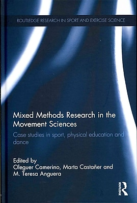 Taylor & Francis Mixed Methods Research in the Movement Sciences Book