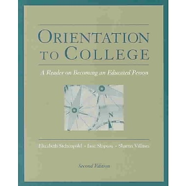 Cengage Learning® Orientation to College Book