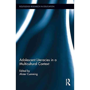 Taylor & Francis Adolescent Literacies in a Multicultural Context Book
