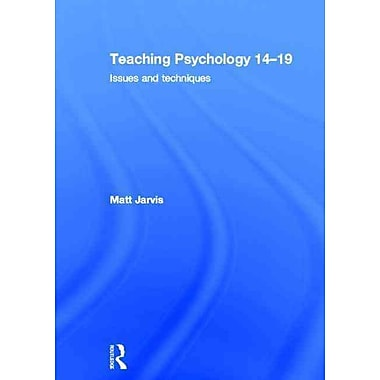 Taylor & Francis Teaching Psychology 14-19 Book