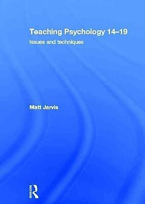 Taylor & Francis Teaching Psychology 14-19 Book