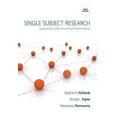 Cengage Learning® Single Subject Research Book, New Book