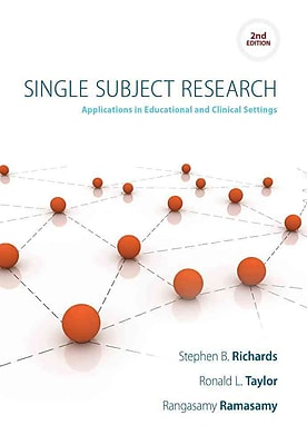 Cengage Learning® Single Subject Research Book