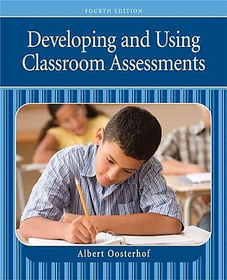 Pearson Developing and Using Classroom Assessments Book