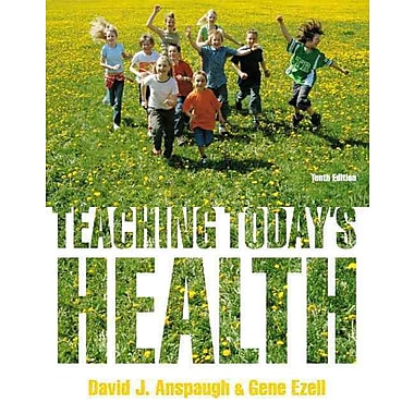 Pearson Teaching Today's Health Book