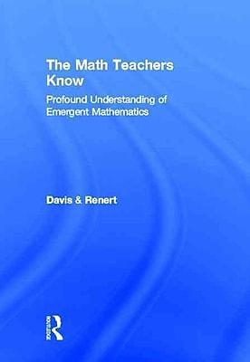 Taylor & Francis The Math Teachers Know Hardback Book