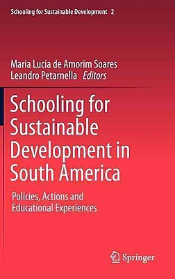 Springer Schooling for Sustainable Development in South America, Volume 2 Book