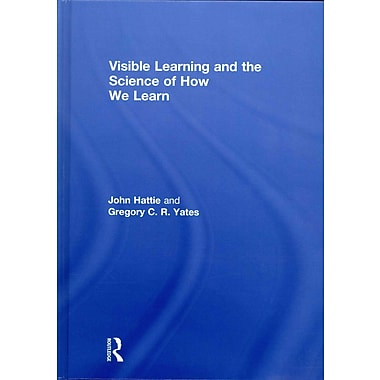 Taylor & Francis Visible Learning and the Science of How We Learn Hardback Book