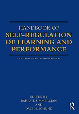 Taylor & Francis Handbook of Self-Regulation of Learning and Performance Book