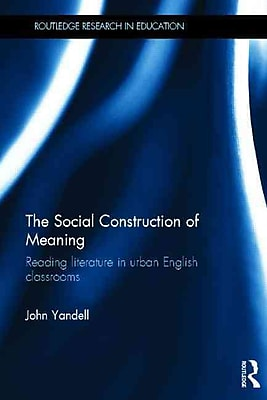 Taylor & Francis The Social Construction of Meaning Book