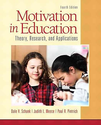 Pearson Motivation in Education: Theory, Research and Book, 4th Edition
