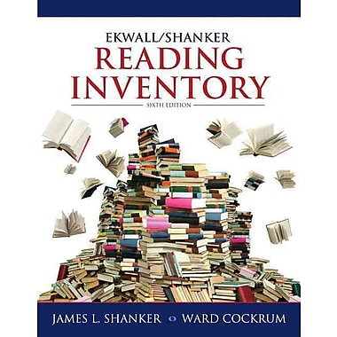 Pearson Ekwall/Shanker Reading Inventory Book