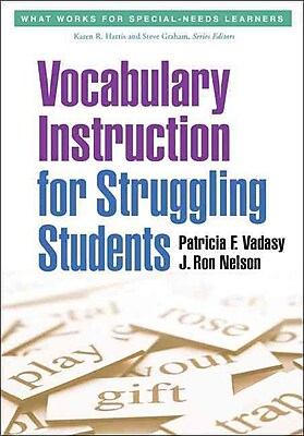Guilford Press Vocabulary Instruction for Struggling Students Paperback Book