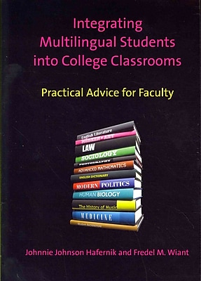 University of Toronto Press Integrating Multilingual Students into College Classrooms Book