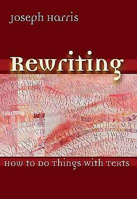 Utah State University Press Rewriting Book