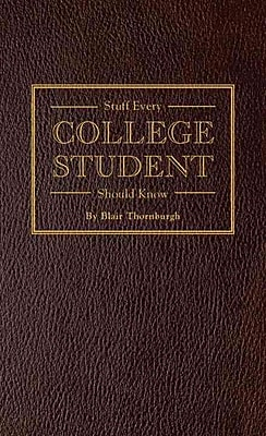Random House Stuff Every College Student Should Know Book