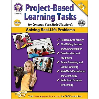 Carson Dellosa Project-Based Learning Tasks for Common Core State Standards Resource Book