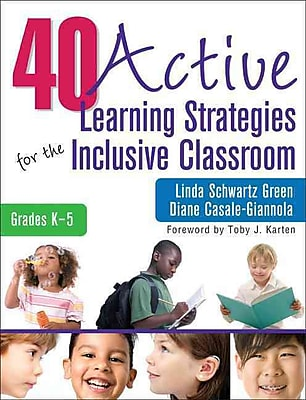 Corwin 40 Active Learning Strategies for the Inclusive Classroom Book