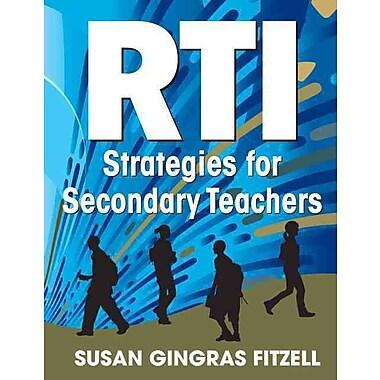 Corwin RTI Strategies for Secondary Teachers Book