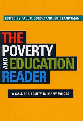 Stylus Publishing The Poverty And Education Reader Paperback Book