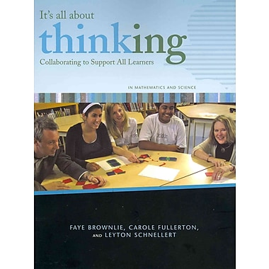 Portage & Main Press It's All About Thinking: Collaborating to Support All Learners Book
