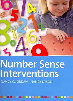 Brookes Publishing Co Number Sense Interventions Book